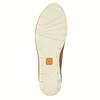 Chaussure lacée décontractée en cuir flexible, Brun, 524-3565 - 26