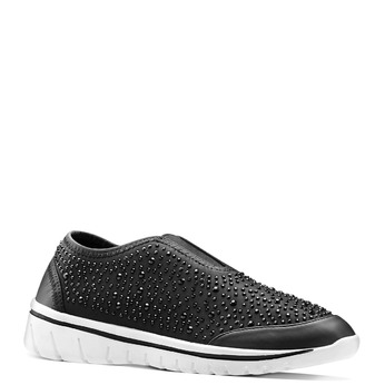 Slip-on à semelle contrastée north-star, Noir, 539-6109 - 13