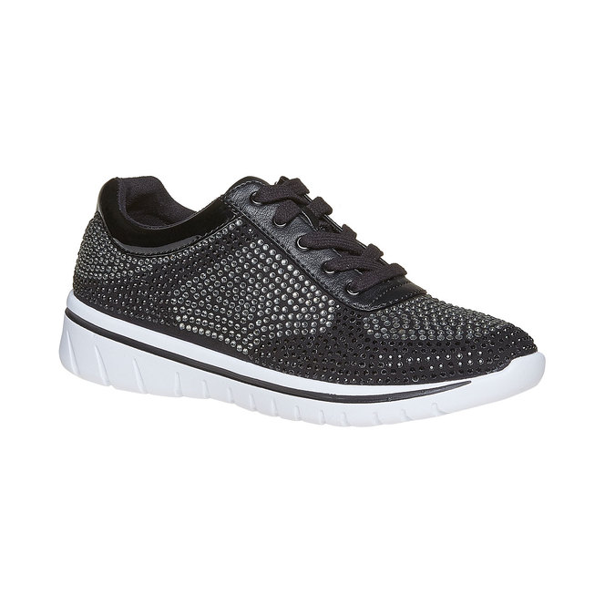 Baskets strass femme north-star, Noir, 549-6261 - 13