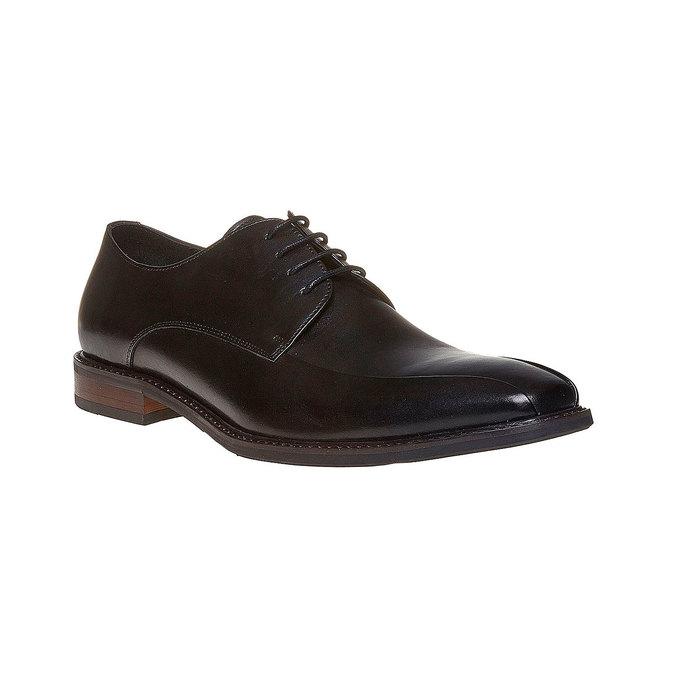 Chaussure lacée style Derby bata, Noir, 824-6311 - 13