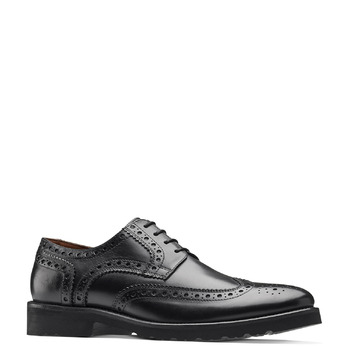 Richelieu cuir Argyll bata-light, Noir, 824-6399 - 13