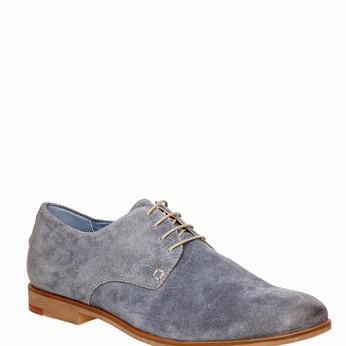 Chaussure lacée Derby en cuir vagabond, Violet, 823-9104 - 13