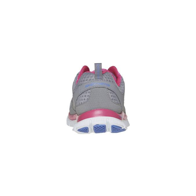 Chaussure de sport femme skecher, Gris, 509-2456 - 17