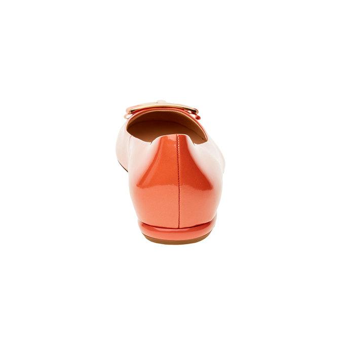 Ballerine en cuir pour femme hogl, Jaune, 528-8002 - 17