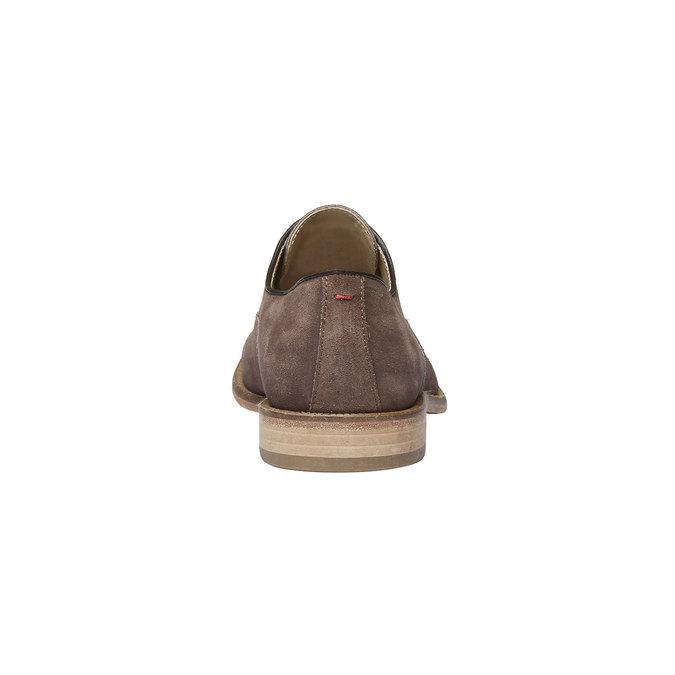 Oxford Shoe en cuir avec semelle en cuir shoemaker, Brun, 823-4103 - 17
