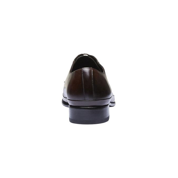 Chaussure lacée Derby en cuir bata, Brun, 824-4550 - 17