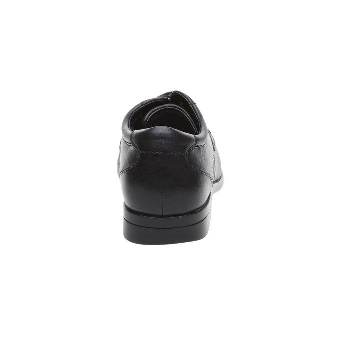 Chaussure lacée en cuir pour homme rockport, Noir, 824-6376 - 17