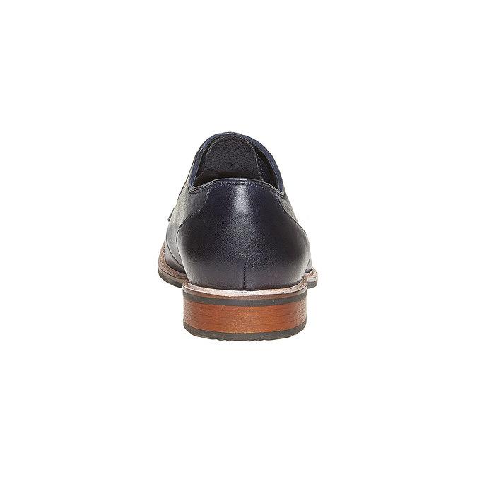 Chaussure en cuir style Derby bata, Violet, 824-9280 - 17