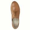 Chaussure lacée décontractée en cuir flexible, Brun, 524-3565 - 19
