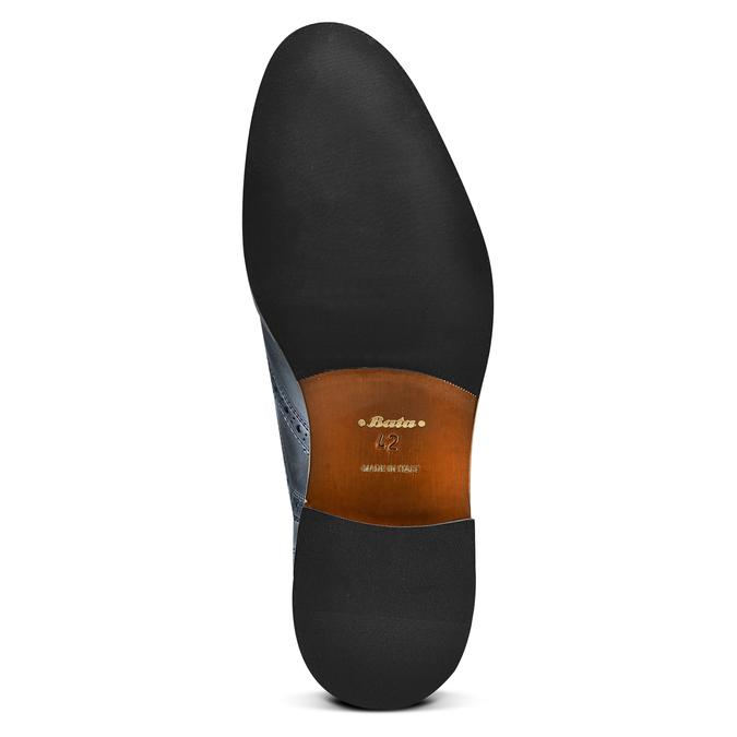 Chaussures en cuir Oxford shoemaker, Violet, 824-9594 - 19