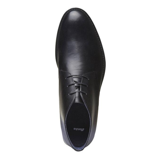 Boots Chukka en cuir bata, Noir, 894-6439 - 19