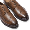 Derbies en cuir bata-light, Brun, 824-4399 - 19