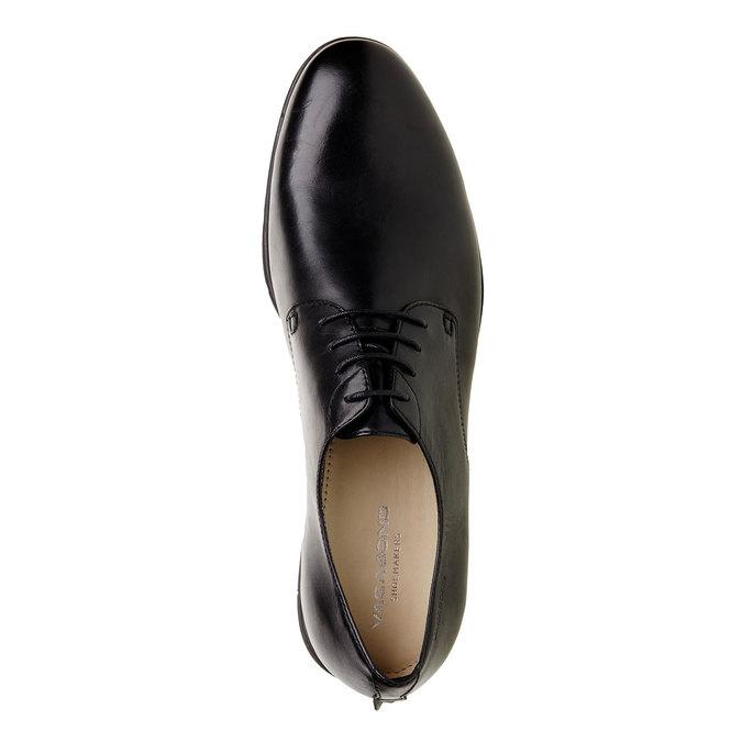 Chaussure lacée Derby en cuir vagabond, Noir, 824-6246 - 19