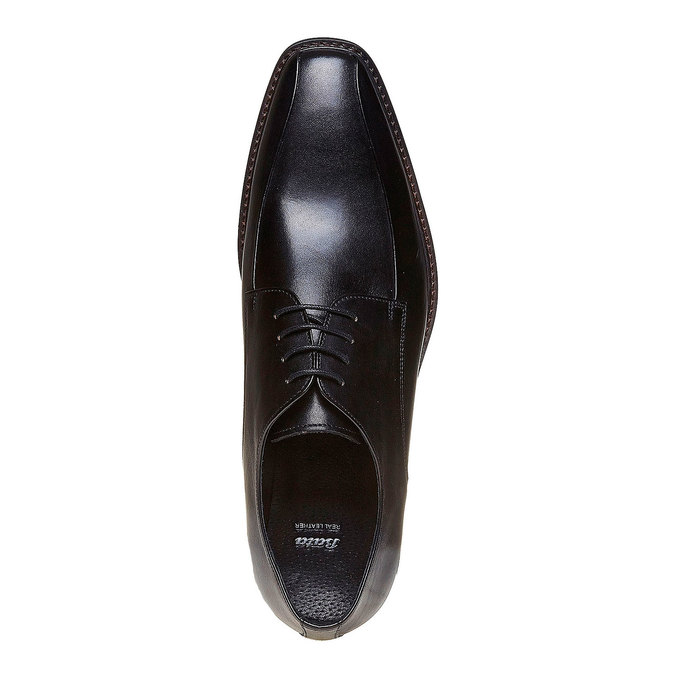 Chaussure lacée style Derby bata, Noir, 824-6311 - 19