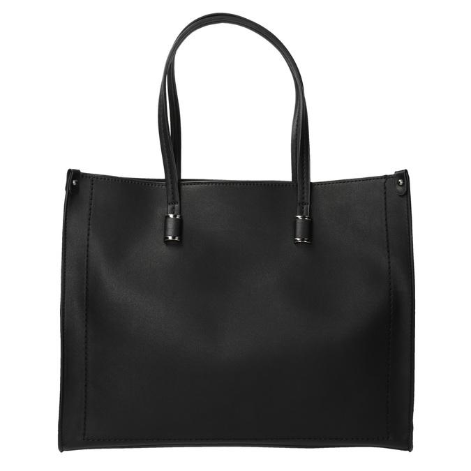 Sac à main anguleux style Shopper bata, Noir, 961-6736 - 19