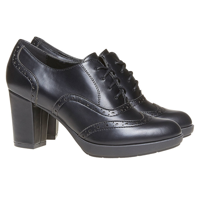 Chaussures Femme bata, Noir, 721-6225 - 26