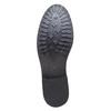 Chaussure lacée en cuir pour femme bata, Noir, 524-6222 - 26