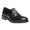 Chaussure lacée en cuir pour femme bata, Noir, 524-6222 - 13