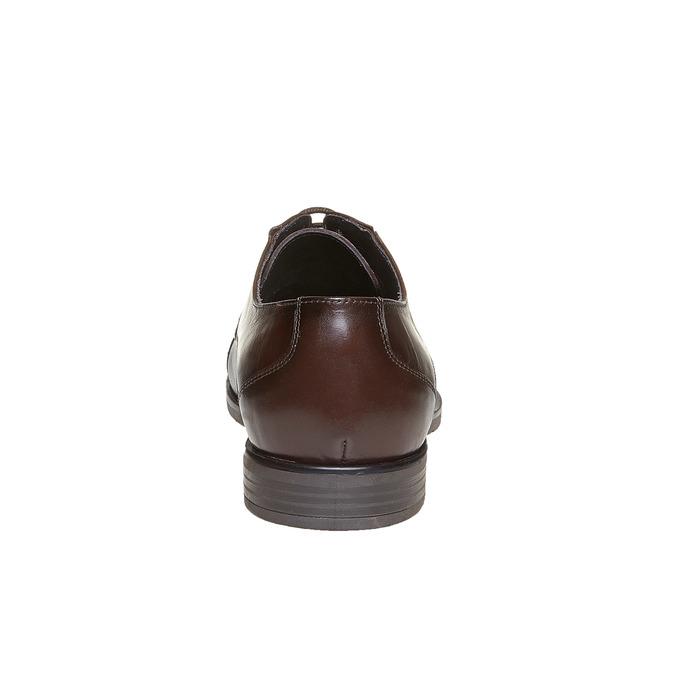 Chaussure décontractée en cuir bata, Brun, 824-4617 - 17