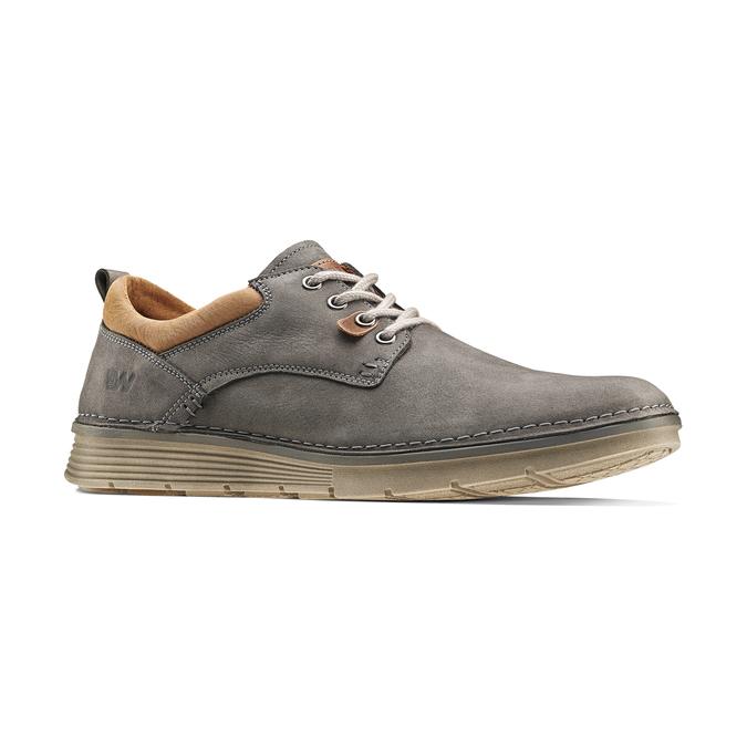 Chaussure légère en cuir weinbrenner, Gris, 846-2436 - 13