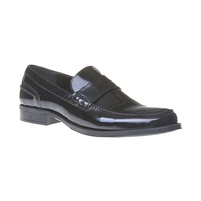Penny Loafers homme bata, Noir, 811-6150 - 13