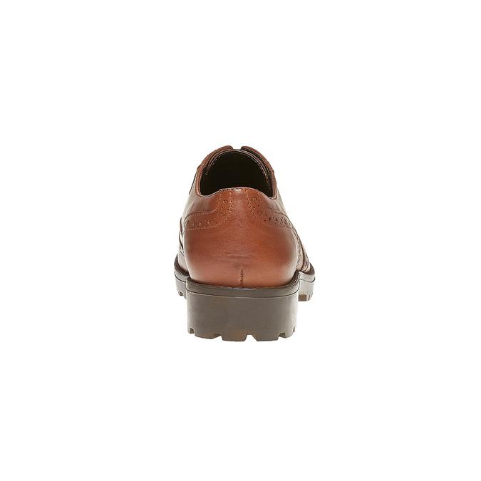 Chaussure Oxford femme bata, Brun, 524-3135 - 17