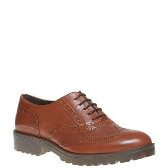 Chaussure Oxford femme bata, Brun, 524-3135 - 13