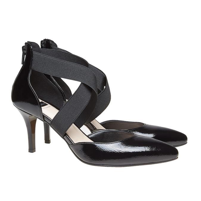 Chaussures Femme bata, Noir, 728-6369 - 26