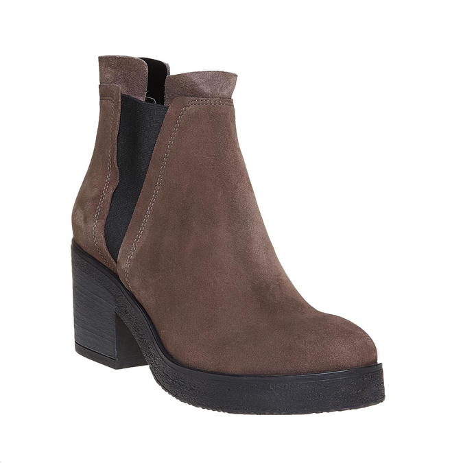 Chaussures Femme bata, Gris, 693-2379 - 13