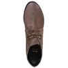 Chaussure à lacets en cuir pour femme bata, Gris, 693-2381 - 19