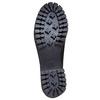 Chaussure lacée en cuir pour femme bata, Noir, 524-6165 - 26