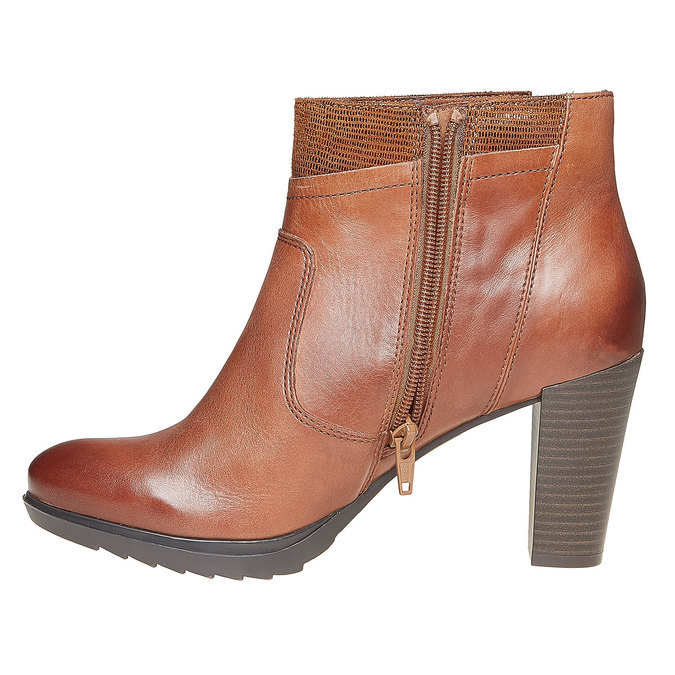 Chaussures Femme insolia, Brun, 794-3353 - 19