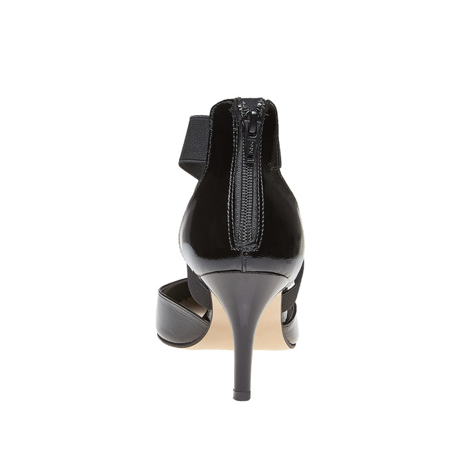 Chaussures Femme bata, Noir, 728-6369 - 17