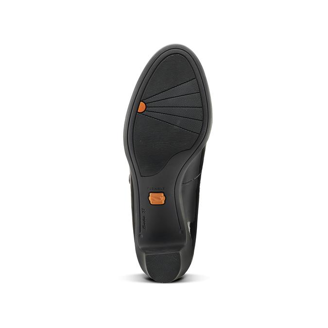 Chaussures Femme flexible, Noir, 621-6220 - 17