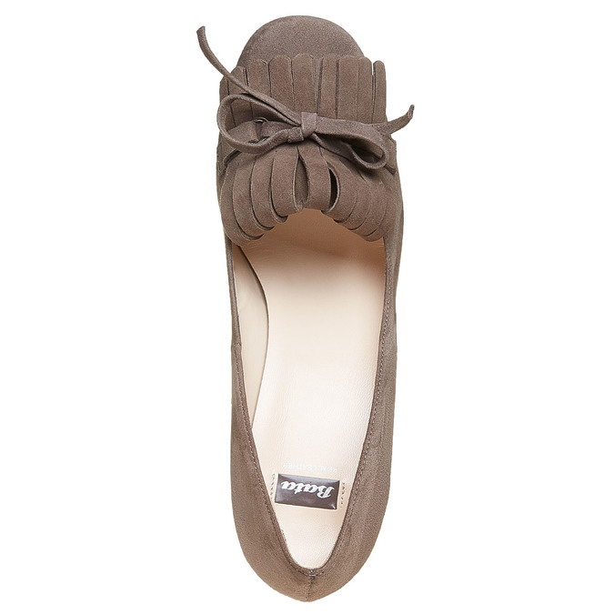 Chaussures Femme bata, Gris, 723-2381 - 19