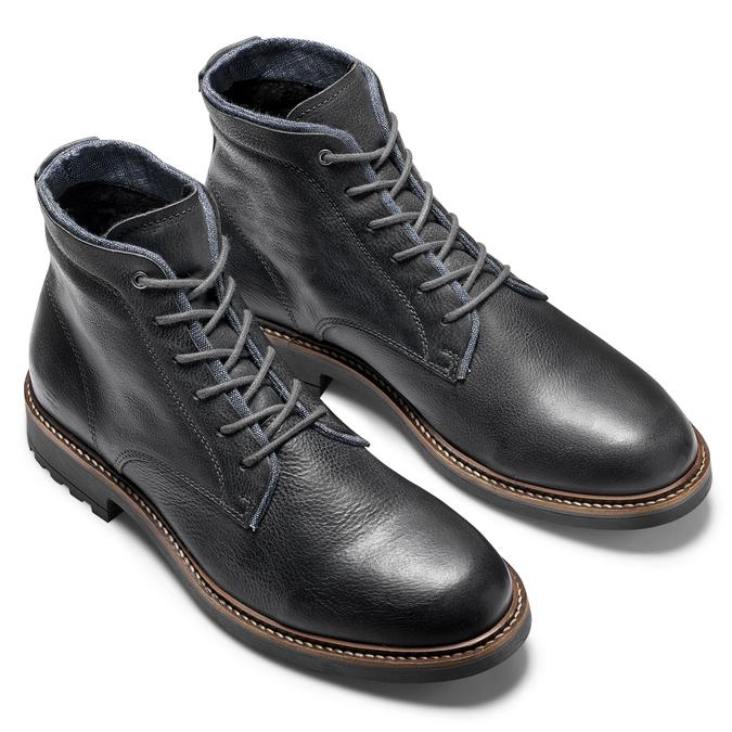 Chaussures Homme bata, Noir, 894-6522 - 19