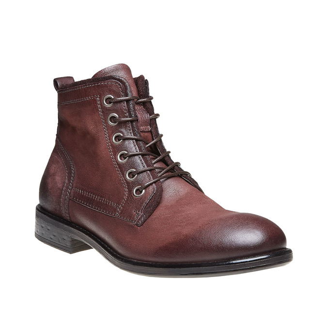 Chaussures Homme bata, Rouge, 894-5505 - 13