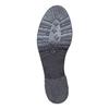 Mocassins en cuir femme bata, Noir, 514-6246 - 26
