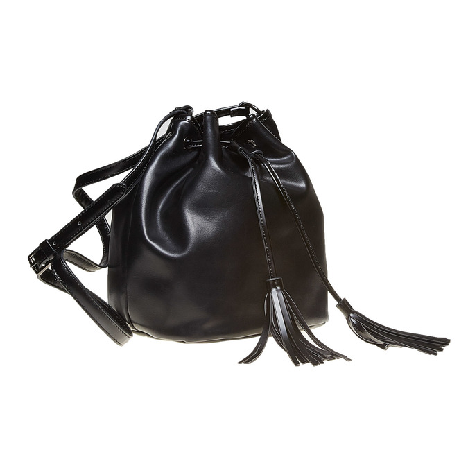 Sac à main Bucket Bag bata, Noir, 961-6884 - 13