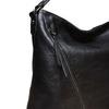 Sac à main femme avec zips bata, Noir, 961-6127 - 17