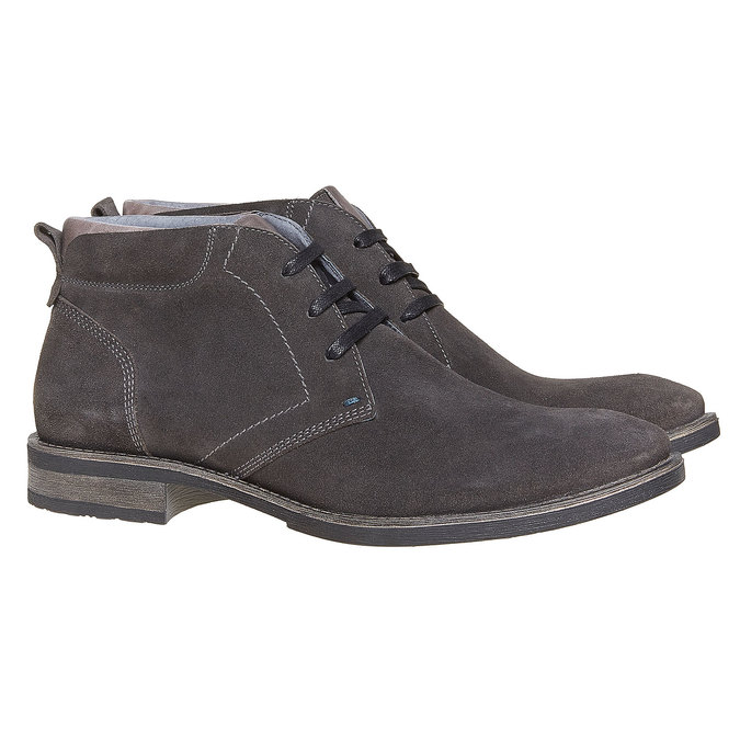 Chaussures Homme bata, Gris, 823-2533 - 26