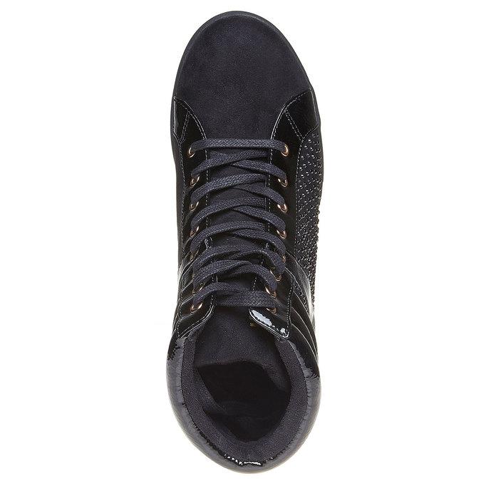 Chaussures Femme north-star, Noir, 729-6360 - 19