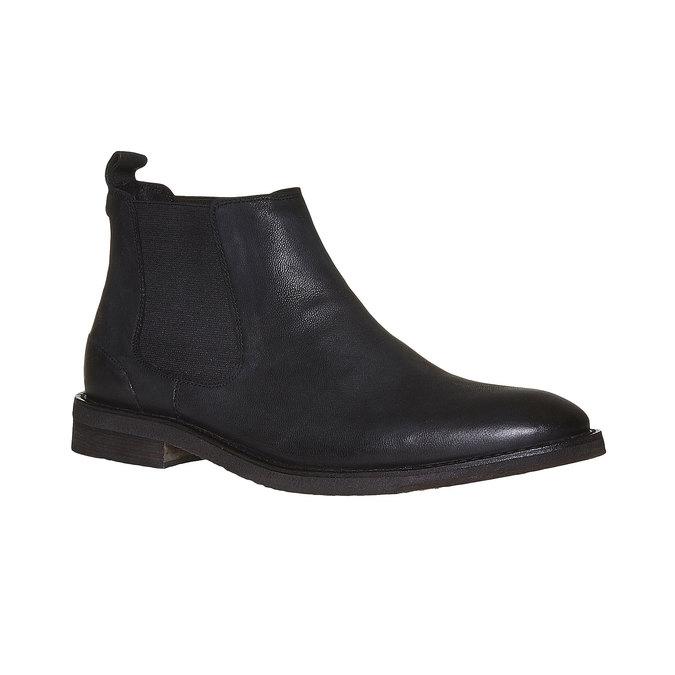 Chaussure en cuir Chelsea Boots bata, Noir, 894-6566 - 13