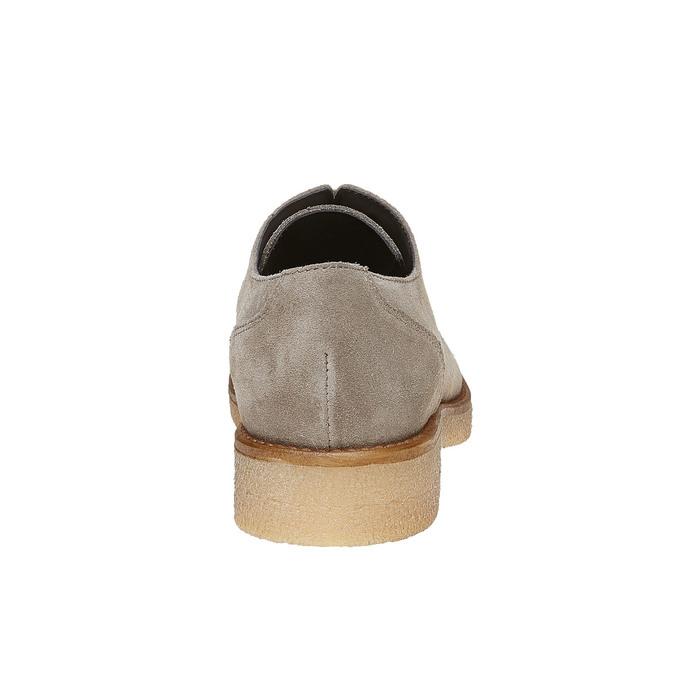 Chaussure décontractée en cuir bata, Gris, 523-2262 - 17