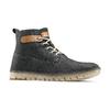 Chaussures lacées en cuir weinbrenner, Violet, 896-9340 - 13