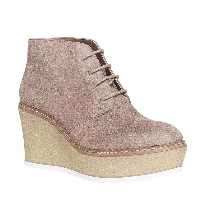Chaussures Femme bata, Gris, 799-2254 - 13