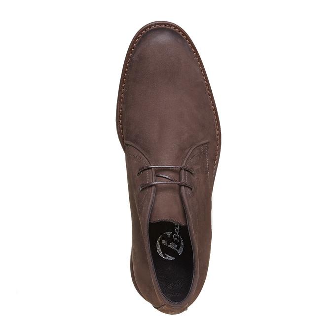 Desert Boots en cuir pour homme bata, Brun, 846-4649 - 19