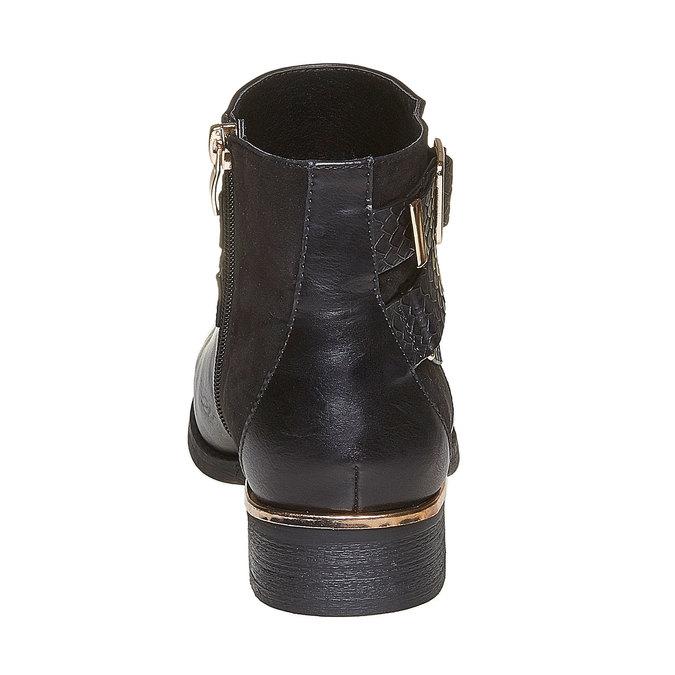 Chaussures Femme bata, Noir, 591-6545 - 17