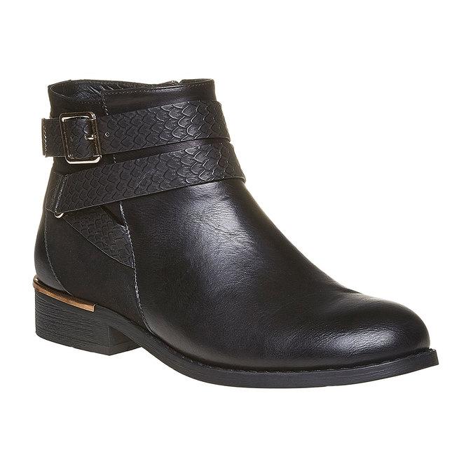 Chaussures Femme bata, Noir, 591-6545 - 13