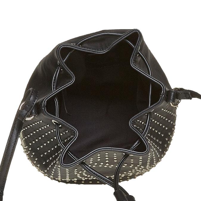 Sac à main dans le style Bucket Bag bata, Noir, 961-6853 - 15